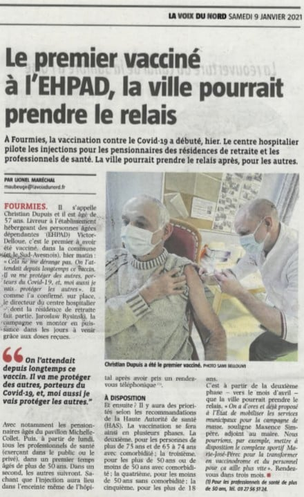 Read more about the article Campagne de vaccination